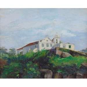 Lucília Fraga - Convento de Itanhaém - OST - ass. cid - 33 x 41,5 cm.