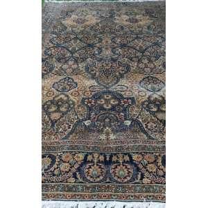 Tapete iraniano, Kirman, manufatura manual, 5,00m x 3,30m (no estado).
