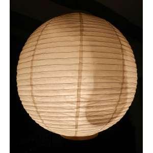 Lanterna japonesa de papel arroz - diâmetro 51cm