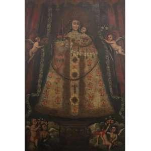Nossa Senhora de Guapulo - Séc. XVIII - OST - 165 x 110 cm.
