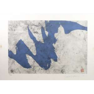 Tomie Otake - Gravura - 51/100 - CID - 50 x 71 cm.