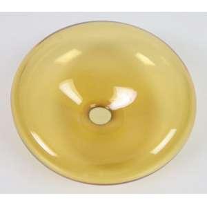 BARBINI ALFREDO -vaso bolha de vidro artístico de Murano , assinado - 10 cm alt, 24 cm diâm.