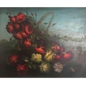 TERUZ ORLANDO - Flores - OST/CID - 58 x 72 cm.