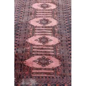 Passadeira Oriental Manufatura manual - 3,35 x 95 cm.