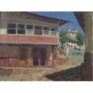 Renee Lefèvre - Rua da Barca, Ouro Preto - OSTSC - ass. cid - 1933 - 26x34 cm.