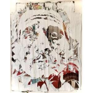 VHILS- Alexandre Farto - Rosto - Trata se de uma peça única , medindo 200 x 160 cm , executada por colagem de fragmentos de posters sobre placa , com certificado de autenticidade . <br />Outdoors coletados da rua e trabalhados manualmente nasceu em Portugal em 1987. Ele estudou na Byam Shaw School of Art, em Londres. Vhils vive e trabalha em Londres e Lisboa. Ele ganhou destaque quando seu trabalho de um rosto esculpido em uma parede apareceu ao lado de uma foto do artista de rua Banksy no Festival em Londres .Uma foto dele criando o trabalho apareceu na primeira página do The Times.Mais tarde, ele foi dado espaço para mostrar seu trabalho pelo agente de Banksys. Vários de seus trabalhos foram publicados em 2008. Ele também é mostrado por Vera Cortes e pela Galeria Magda Danysz.Durante Street Arts Festival,o Norfolk Hotel foi decorado com uma imagem original da primeira senadora australiana. A imagem de Dame Dorothy Tangney DBE foi criada por Vhils e seus assistentes. O Luxembourg Freeport, um armazém de arte inaugurado em 2014, inclui um grande mural da Vhils, gravado em uma das paredes de concreto do átrio.Vhils levou para vários lugares do mundo, tentando revelar as histórias dentro das paredes<br /><br />