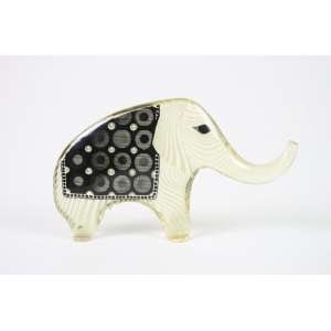 ABRHAM PALATINIK - Elefante - 15 cm alt, 26 larg. 04 cm compr.