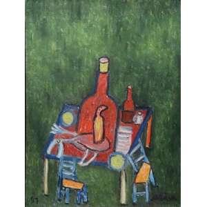 José Antonio da Silva - Natureza Morta - OST - ass. cid - 1991 - 40x30 cm.