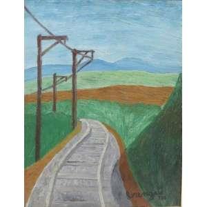 Amadeo Lorenzato - Estrada de Ferro - OSE - CID - 1980 - 30x23 cm.