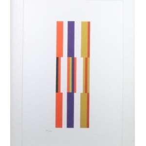 WILLYS DE CASTRO - S/T - serigrafia - 50/300 - 2012 - do original de 1961/1962 - edição IAC com carimbo no cid - original de 1961/1962 - 50x33 cm.