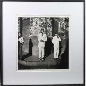 Pierre Verger - Cena Urbana, Salvador-Br - Fotografia - edição 5/7 - carimbo da Fundação Pierre Verger no cid - 39x38 cm