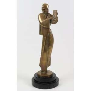 RAPHAEL GALVEZ - Escultura em bronze - não assinada - obra da mesma edição está reproduzida no livro do artista, edições Momesso - 30 cm alt.