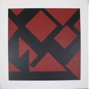 Judith Lauand - S/T - serigrafia - 66/100 - ass. cid - 50x50 cm - não emoldurada.