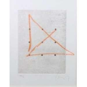 Wesley Duke Lee - S/T - gravura em metal - 32/36 - ass. cid - 1972 - etiqueta galeria Luisa Strina no verso.