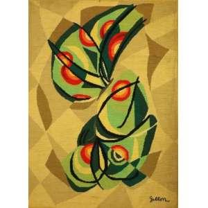 Jean Gillon - S/T - tapeçaria ass. cid - 133x98 cm - marcas do tempo.