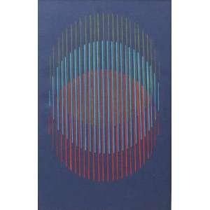LOTHAR CHAROUX - S/T - guache s/ papel - ass. cid - 28 x 18 cm.
