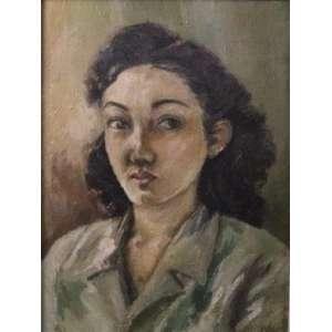 Alfredo Rizzotti - Figura Feminina - OSC - ass. cid - 1943 - 40x30 cm.