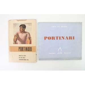 Portinari - Dois catálogos: MASP, exposição fev. e mar. de 1954 e Coleção Arte no brasil I, 1947 (Edições Pinguim) - bem conservados, com marcas e desgastes do tempo - 23x15 cm e 20x23 cm respectivamente.