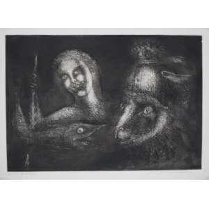 Marcelo Grassmann - S/T - gravura em metal - P.A. - ass. cid - 39x53 cm - não emoldurada.