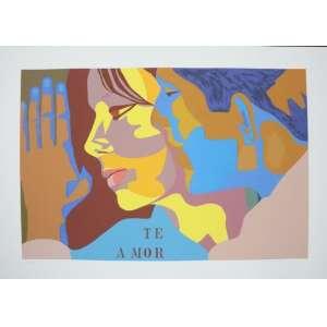 Judith Lauand - Te A Mor - serigrafia - 27/100 - ass. cid - 50x70 cm - não emoldurada.