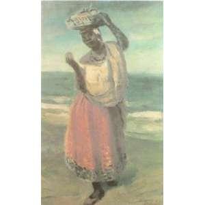 Volpi - Vendedora de Frutas - serigrafia - H.C. - ass. cid - 46x30 cm.