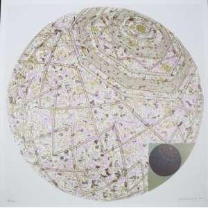 Wakabaiashi - S/T - serigrafia - 84/120 cm - ass. cid - 2005 - 72x72 cm - não emoldurada.