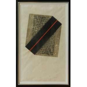 Maria Bonomi - Xilogravura - 44/50 - ass. cid - 1969 - 61cm x 35cm - manchas amareladas e pequena marca de dobra na lateral central esquerda.