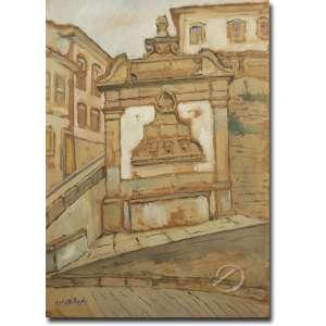 Colette Pujol.<br>Fonte. Técnica mista sobre cartão colado sobre placa, 70 x 50 cm. Assinado embaixo à esquerda: Colette Pujol.<br>