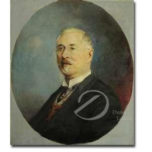 Oscar Pereira da Silva. - Figura masculina. Óleos sobre tela, 74 x 63 cm. Assinado e datado no meio à direita: Oscar P. da Silva/1930.