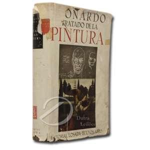 Leonardo Da Vinci - Tratado de la Pintura. Versão em espanhol de Mario Pittaluga; primeira edição. Editorial Losada - Buenos Aires, 1943; 28 x 20,5 cm.