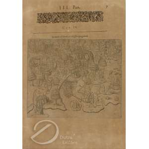 Benzoni, Girolano - De Modo Obsidian e Obsessos Oppuganandi. Litografia, 16 x 19,3 cm. Veneza, 1592, séc. XVI.