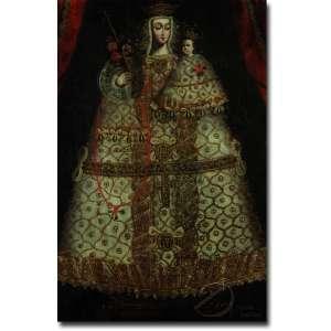 Autoria Desconhecida. Nossa Senhora e o Menino. Óleo sobre tela, 132 x 85,5 cm. América Espanhola, século. XVIII.