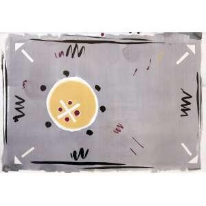 Anna Maria Maiolino<br />Sem título. Aquarela sobre papel, 70x100 cm, 1984, A.C.I.D.