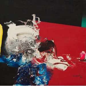 Mabe, Manabu<br />Sem título. Óleo sobre tela, 51x51 cm, 1985, A.C.I.D.