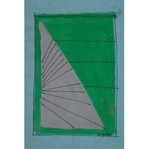 BONADEI, Aldo - Sem titulo - guache - 25 x 18 cm - a.c.i.d.