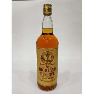 Whisky Hamish Robertson's Highland Reserve - 1L