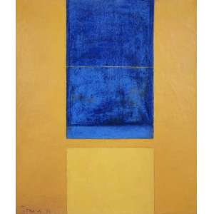 TOMIE OHTAKE - Sem titulo - óleo sobre tela - 36 x 31 cm - a.c.i.e. 1971 - obra registrada no Instituto Tomie Ohtake