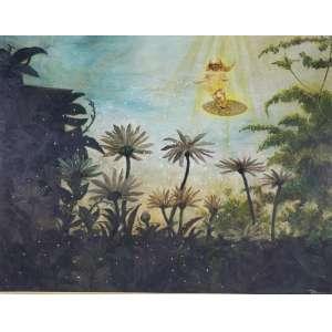 TORASSA - A Deusa da fartura - óleo sobre tela - 60 x 75 cm - a.c.i.d.