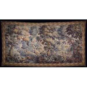 Tapeçaria Verdure - 180 x 355 cm - França, séc. XIX