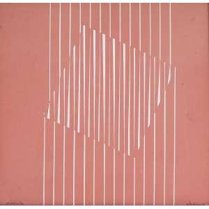 LOTHAR CHAROUX - Linhas - serigrafia P/A - 31 x 32 cm - a.c.i.d.