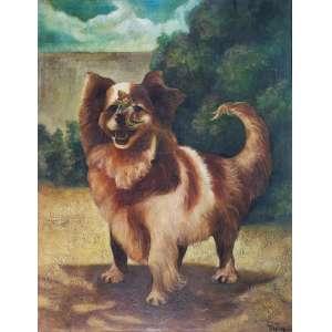 TORASSA - Cachorrinho - óleo sobre tela - 80 x 62 cm - a.c.i.d.