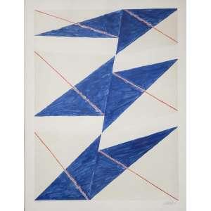 VOLPI, Afredo - Sem titulo - serigrafia 11/200 - 70 x 54 cm - a.c.i.d. <br />