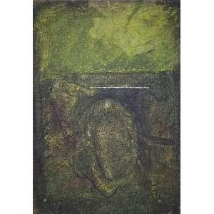 SHIRÓ, Flavio - Abstrato - óleo sobre tela - 45 x 31 cm - a.c.i.d.
