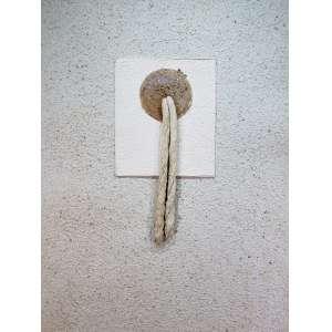 BENÉ FONTELES - Sem titulo - técnica mista sobre cartão - 120 x 90 cm - sem assinatura - com etiqueta Montezanti galeria de arte