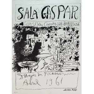PICASSO, Pablo - Sala Gaspar - gravura 910/1000 - 78 x 58 cm - a.c.i.d. assinatura da chapa