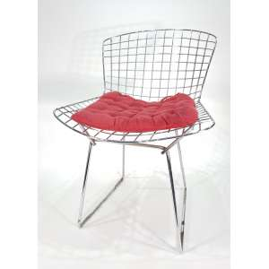 HARRY BERTOIA - Diamod Chair - conjunto com 4 cadeiras - obs: Um tem o estofado na cor preta