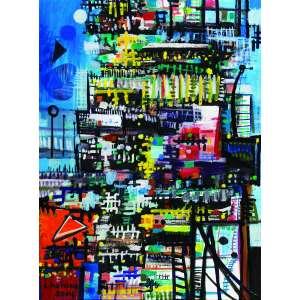 Chanina<br>Metrópole – 80 x 60 cm – OST – Ass. CIE e Dat. 2004