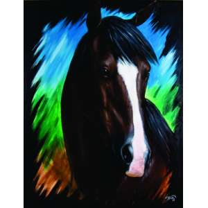 Willian Soares<br>Cavalo – 90 x 70 cm - OST<br>Ass. CID e Dat. 2011