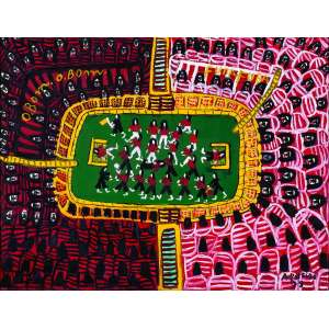 Futebol I<br>50 x 65 cm – OST<br>Ass. CID e Dat. 1978<br> <br>