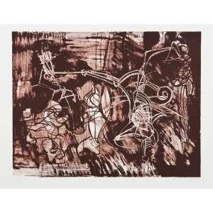 Roberto Burle Marx<br>Tipiaca– 60 x 80 cm – Litografia <br>Ass. CID e Dat. 1992– Sem Moldura